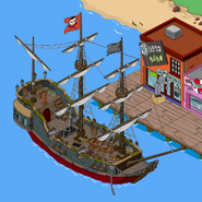 Cursed Ship in the game