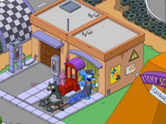 Parade Train Station in the game