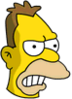 Young Grampa Simpson Annoyed Icon