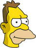 Young Grampa Simpson Icon