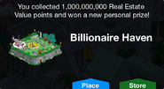 Billionare Heaven Unlock Screen