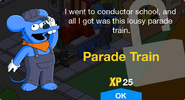 Parade Train Unlocked