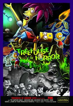 Treehouse of Horror XXVI Poster