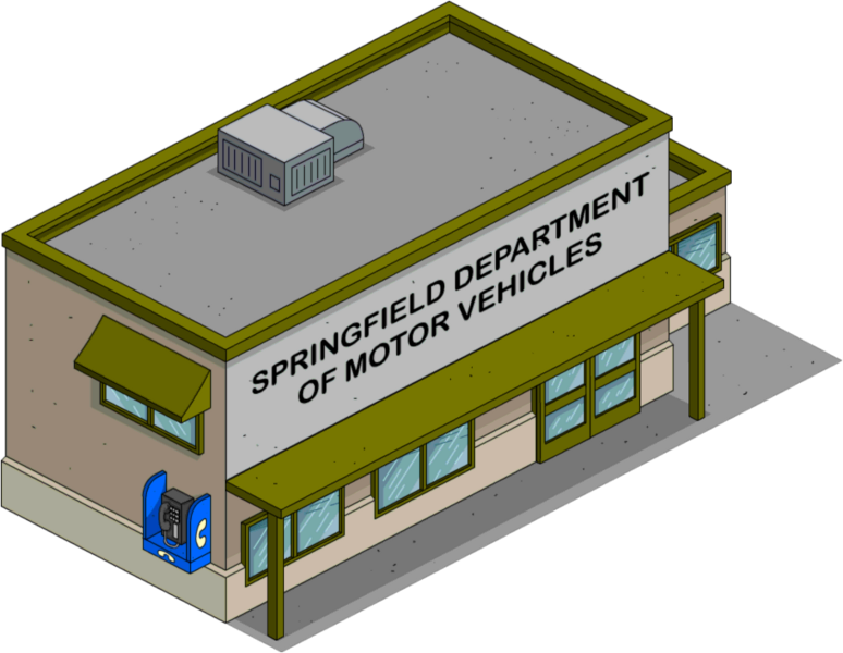 DMV | The Simpsons: Tapped Out Wiki | FANDOM powered by Wikia