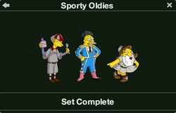 Sporty Oldies Character Collection