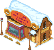 Chocolate Shoppe Flipped Snow Menu