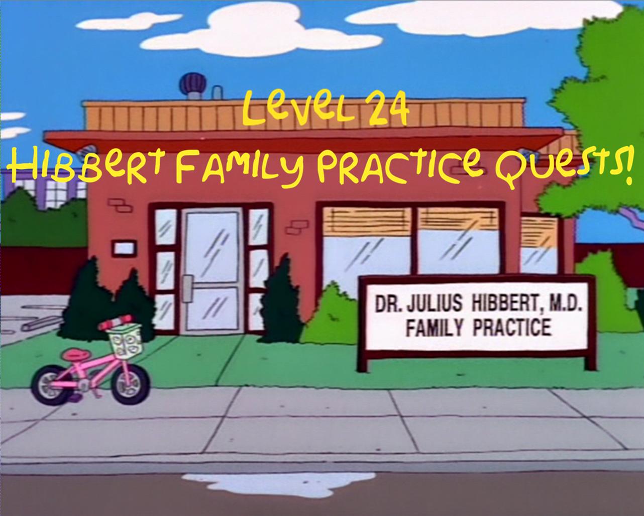 hibbert family practice quests - Quest Bergroer Sessel