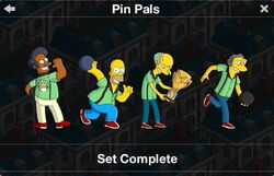 Pin Pals Character Collection 2017
