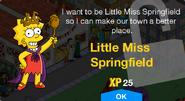 Little Miss Springfield Unlock Screen
