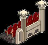 Outdoor Opera Seats Unlock