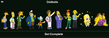 Oddballs Character Collection