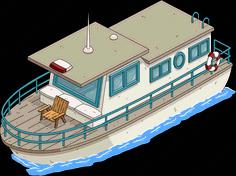 Simpson Houseboat Icon