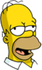 Homer Drunk Icon