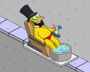 Honest Abe Getting a Spa Treatment (1)