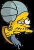 Monkey's Paw Salesman Sad Icon