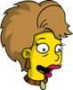 Ginger Flanders Happy Icon