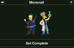 Monorail Character Collection