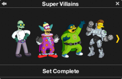 Super Villains Character Collection 1