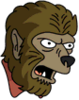 Werewolf Annoyed Icon
