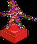 Abe's Rainbow Statue Menu