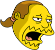 Comic Book Guy Exhausted Icon