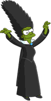 Marge the Witch Menu