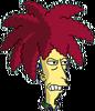 Sideshow Bob Angry Icon