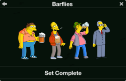 Barflies Character Collection