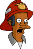 Fireman Apu Surprised Icon
