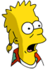Mooch Bart Surprised Icon