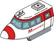 Monorail Train Icon