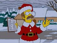 Santa Flanders in 'tis the fifteenth season'