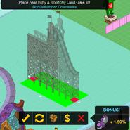 Placing Zoominator Plunge in the Amusement Bonus Area