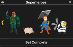 Superheroes Character Collection 2