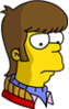 Teenage Homer Sad Icon