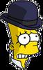 Clockwork Bart Nervous Icon