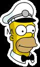 Ice Cream Man Homer Sidebar