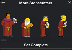 More Stonecutters Character Collection 1
