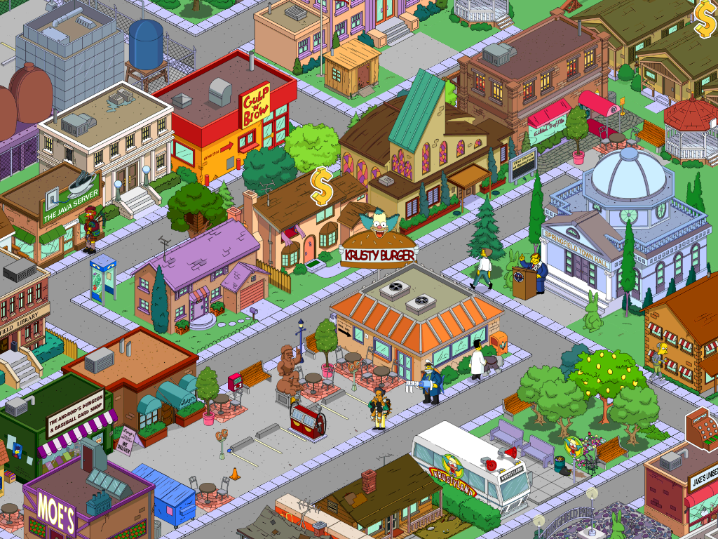 Image My Springfield Png The Simpsons Tapped Out Wiki Fandom Powered By Wikia
