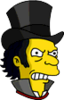 Jack the Ripper Angry Icon
