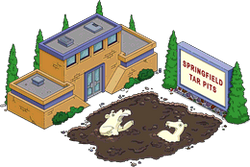 Tapped Out Tar Pits