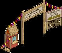 County Fair Sign