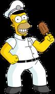 Ice Cream Man Homer Unlock