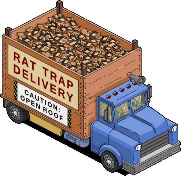 Verwonderlijk Rat Trap Delivery Truck | The Simpsons: Tapped Out Wiki | FANDOM AU-31
