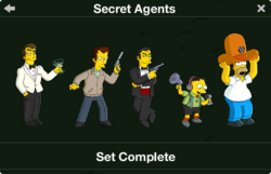 Secret Agents Character Collection
