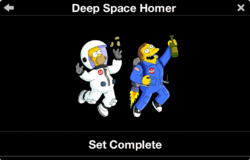 Deep Space Homer Collection