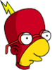 Radioactive Milhouse Annoyed Icon