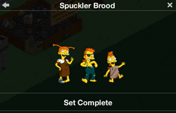Spuckler Brood Character Collection