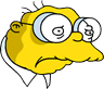 Hans Moleman Sad Icon