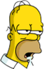 Homer Sleepy Icon